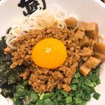 一燈 - 大阪で〆に食べたまぜそば  味、小杉…。