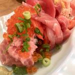 大庄水産 - ぶっかけ寿司こぼれ盛り