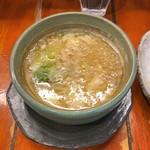 つけ麺 紫匠乃 - 紫つけ麺 全部入りのつけ汁