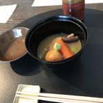 銀座の金沢 - 治部煮。