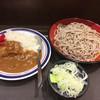 名代 富士そば - 料理写真:ミニカレーセット530円。そんなに悪くない。