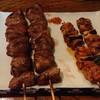 丸八焼鳥店 - 料理写真:レバーと若どり