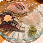 和風創作 拓味 - 料理写真:刺身3点盛り