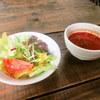 スパゲティ屋 青山 - 料理写真:スープ サラダ
