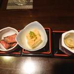 しゃぶしゃぶ 銀都 - 前菜