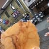 永楽堂 - 料理写真:焼きたて…熱い!でも激ウマ!