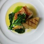 La Cucina Italiana Trentuno - 料理写真:天然クエのロースト コース料理より