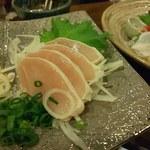 108227453 - 石川「健康鶏」のタタキ