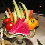 THE PRIVATE DINING Banboo Garden - 旬の野菜のスティックパフェ