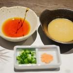 しゃぶしゃぶ 牛芳 - 自家製ゴマダレ&自家製ポン酢