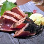 蔵元居酒屋 清龍 - かつお叩き(480円)