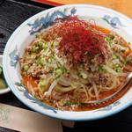 美どり亭 - 料理写真:夏季限定の冷やし坦々麺。キリッと冷えたスープとツルツル麺でさっぱりと。