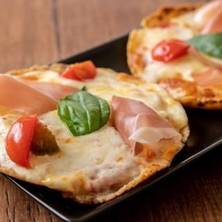 カリフラワーの生地で作ったヘルシーなグルテンフリーのピザ