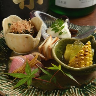 ★野菜ー和食であまり使われない珍しい野菜を楽しむー