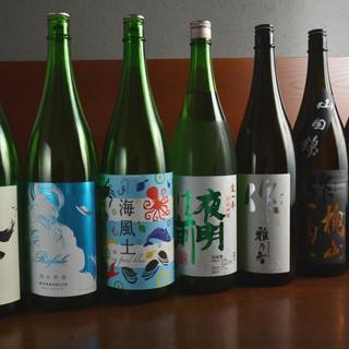 ★厳選した日本酒を食中酒として楽しむ♪