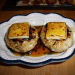 とり森 - チーズ入りつくね焼き 520円