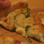 手作りピッツァ・お惣菜ルーティーン - チーズとろーり