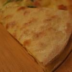 手作りピッツァ・お惣菜ルーティーン - 裏はこんな感じ