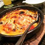 くらち - 季節野菜とチーズのオーブン焼き 830円