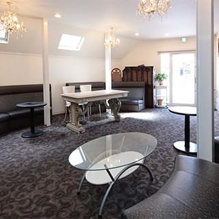 各部屋に入口・受付スペース有◆シーンで選べるパーティールーム