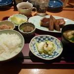 と一 - ある日の煮魚定食