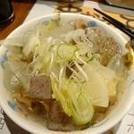 Kushikatsudengana - 牛もつ塩煮込み(340円)もイケル♪串カツがこってりやからさっぱりして非常によろしいつまみです