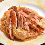 プライム・リブ - 料理写真:渡り蟹のスパゲティ