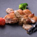 山本のハンバーグ - 鶏モモステーキ