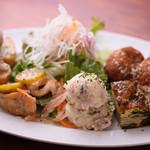山本のハンバーグ - 前菜5種盛り合わせ