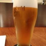 山小屋バルRoot 7合目 - 生ビール(アサヒスーパードライ)