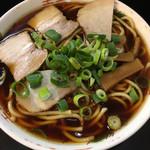 中華そば さるぱぱ - 高井田ラーメン (*´ω`*) 中華そば 中 1.5玉 太麺