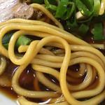 中華そば さるぱぱ - 太麺 (*´ω`*)
