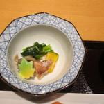 柳寿司 - 小鉢 :メカジキ