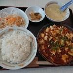 108258340 - 麻婆豆腐ランチ