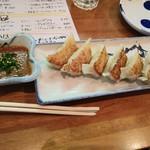 大衆スタンド きもと - 味噌ダレ餃子