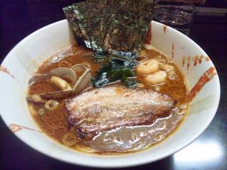 麺屋 優創 - 魚介味噌ラーメン by myself
