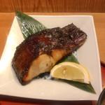 旬の味 たき下 - 黒むつの柚香焼き