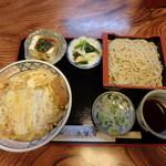 満留賀 - 料理写真:かつ丼セット¥1,200