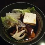 しゃぶしゃぶ 銀都 - ポン酢タレ