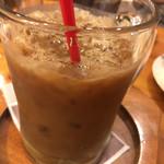 珈琲屋OB - アイスコーヒーにミルクを