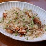 鮭ハラスの焼き飯