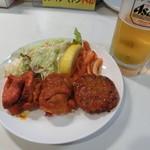 サイダーバ - 料理写真:生ビールセット850円
