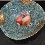 すし昇 - トキシラズの甘酢かけ