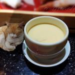 味人膳 - セットの茶碗蒸し