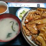 食堂 高田屋 - チャップ丼一式