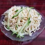 北京餃子房 - 押し豆腐の冷菜