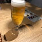 108279639 - 生ビール                       シャンディガフも同じグラスでした。