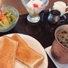 桜珈琲 - 料理写真:ホットサンドモーニング♪