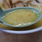 108288277 - 味噌カレー牛乳ラーメンのスープアップ