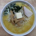 108288301 - 味噌カレー牛乳ラーメン(バター入り):830円